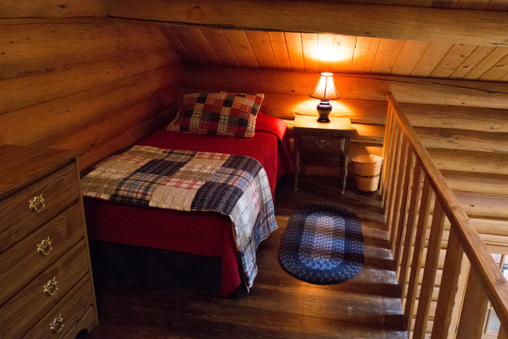 Baker House Loft Bed | Wyoming Guest Ranch | CM Ranch