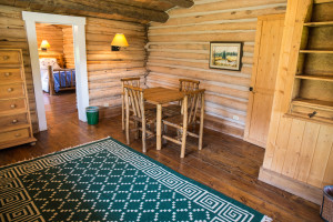Exterior of Hill Cabin 2 | Affordable dude ranch vacations | CM Ranch
