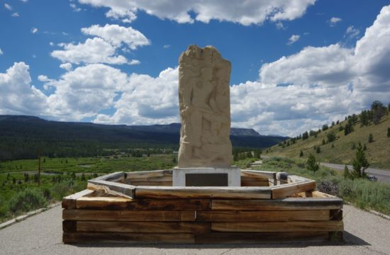 Tie Hack Memorial near CM Ranch in Dubois, WY | Wyoming dude ranch vacation