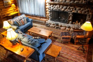 Baker House Living Room | Wyoming Guest Ranch | CM Ranch