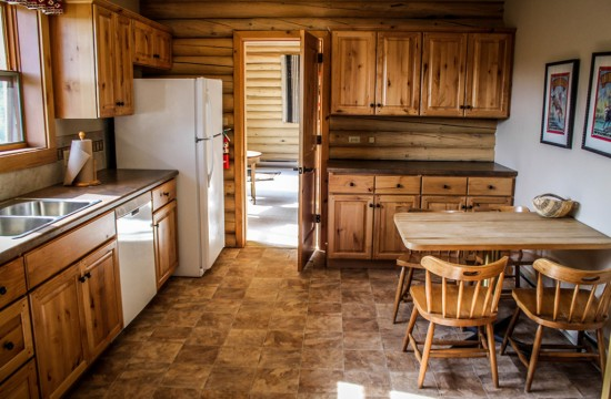 Greer House Kitchen | Family dude ranch vacations at CM Ranch