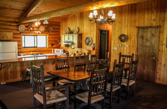 Hardie House Dining Room | Lodging in Dubois Wyoming | CM Ranch
