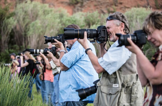 A group of photographers on a retreat at CM Ranch near Dubois, WY | Best dude ranches in Wyoming